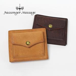 メンズ 二つ折り財布 牛革 本革 レザー 日本製 Passenger Message パッセンジャーメッセージ プエブロ 941-pm-7r104|e-bag-morita
