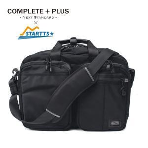 メンズ ブリーフケース リュック ショルダーバッグ 3Way ナイロン ビジネス 軽量 撥水 スターツ STARTTS COMPLETE PLUS コンプリートプラス cp-6st101|e-bag-morita