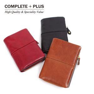 メンズ ミディアム二つ折り財布 イタリア製牛革 本革 レザー COMPLETE PLUS コンプリートプラス クローチェ 952-cp-8bg102|e-bag-morita