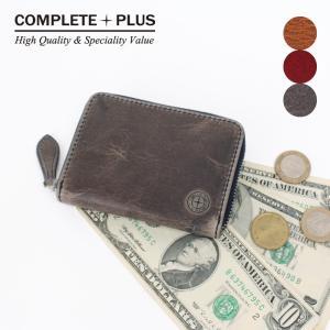 コインケース メンズ BOX型小銭入れ ミニ財布 カードケース 牛革 本革  アンティークレザー COMPLETE PLUS コンプリートプラス 952-cp-9bg203|e-bag-morita