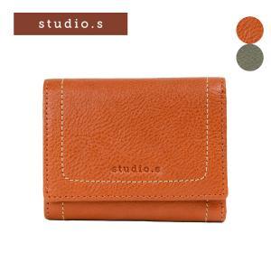 STUDIO・S スタディオ・S デポジット 三つ折り財布 953-ss-8f04|e-bag-morita
