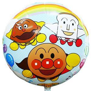 UFO風船 キャラクター風船 アンパンマン柄(100枚) 糸付  / バルーン|e-balloon