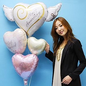 結婚祝い ウエディングバルーンギフト エタニティラブ|e-balloon