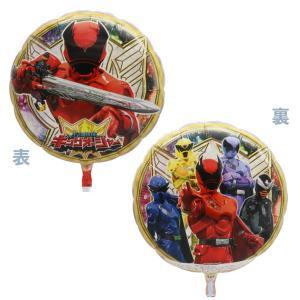 メタリックキャラクターUFO風船 宇宙戦隊キュウレンジャー柄(50ヶ) 糸付|e-balloon