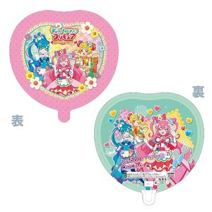 メタリックキャラクターUFO風船 キラキラ☆プリキュアアラモード柄(50ヶ) 糸付|e-balloon