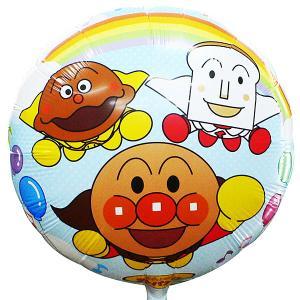 UFO風船 キャラクター風船 アンパンマン柄(10枚) 糸付  / バルーン|e-balloon
