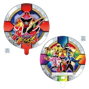 メタリックキャラクターUFO風船 宇宙戦隊キュウレンジャー柄(10ヶ) 糸付|e-balloon