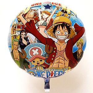 UFO風船[キャラクター風船] ワンピース柄(100ヶ) 糸付 【バルーン】|e-balloon