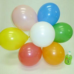 天然ゴム風船 無地カラー(100ヶ) 40cmパイプ棒付 / バルーン|e-balloon