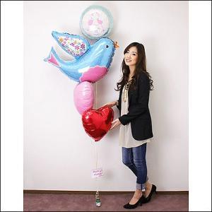 結婚祝い ウエディングバルーンギフト ハッピーブルーバード|e-balloon