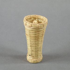 茶筅筒 茶道具 茶籠 茶筅付き 千島笹 e-basket