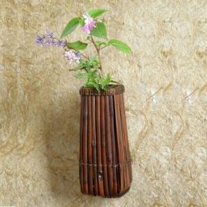 籬組 掛け花籠 茶道具 籃|e-basket