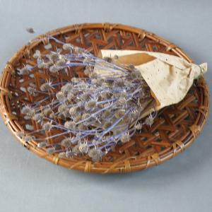 煤竹 燻煙根曲がり竹 大皿 鉄線編み パーティー|e-basket