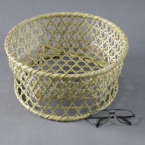 椀籠 円形(大) 根曲がり竹 生活の道具|e-basket