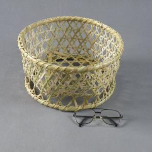 椀籠 円形(小) 根曲がり竹 生活の道具|e-basket