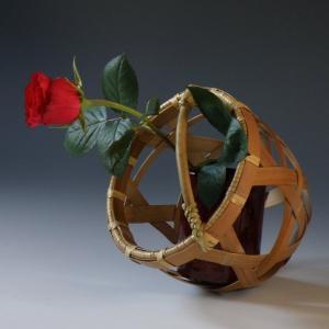 手付き 六つ目花籠|e-basket