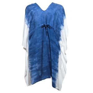ブラウス アジアン衣料 コットン・藍染ブラウス5 クリックポスト選択 送料200円 e-bingo