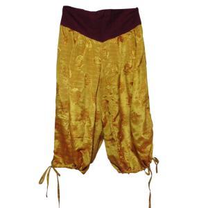 パンツ アジアン衣料 ネパール・シルク・アラビアンパンツ7 クリックポスト選択 送料200円|e-bingo