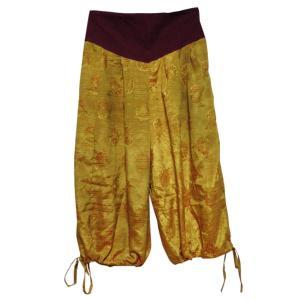 パンツ アジアン衣料 ネパール・シルク・アラビアンパンツ8 クリックポスト選択 送料200円|e-bingo