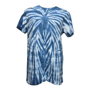 Tシャツ アジアン衣料 コットン藍染Tシャツ1 クリックポスト選択 送料200円|e-bingo