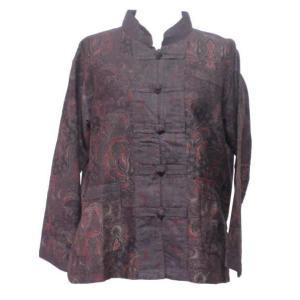 ブラウス アジアン衣料 バティック・チャイナ・ブラウス10 クリックポスト選択 送料200円|e-bingo