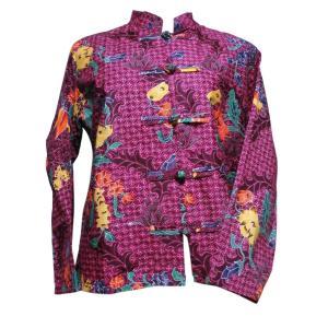 ブラウス アジアン衣料 バティック・チャイナ・ブラウス11 クリックポスト選択 送料200円|e-bingo