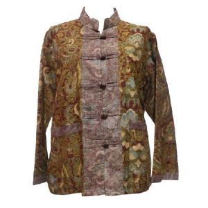 ブラウス アジアン衣料 バティック・チャイナ・ブラウス13 クリックポスト選択 送料200円|e-bingo