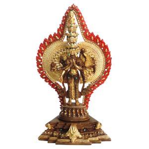 仏像 ネパール仏像 銅製 十一面千手千眼観音像菩薩|e-bingo