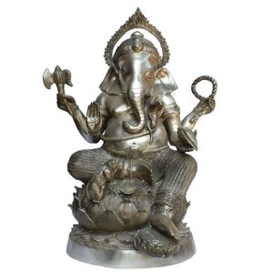 仏像 タイ仏像 48cmの特大ガネーシャ象1|e-bingo