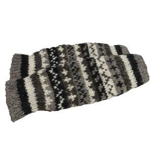 レッグウォーマー アジアン衣料 ネパール手編みウールレッグウォーマー15|e-bingo