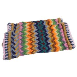 レッグウォーマー アジアン衣料 ネパール手編みウールレッグウォーマー16|e-bingo