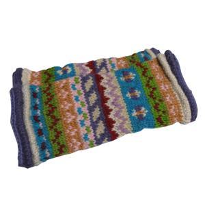 レッグウォーマー アジアン衣料 ネパール手編みウールレッグウォーマー17|e-bingo