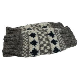 レッグウォーマー アジアン衣料 ネパール手編みウールレッグウォーマー19 e-bingo
