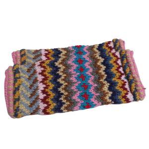 レッグウォーマー アジアン衣料 ネパール手編みウールレッグウォーマー20|e-bingo