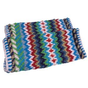 レッグウォーマー アジアン衣料 ネパール手編みウールレッグウォーマー21|e-bingo