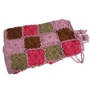 レッグウォーマー アジアン衣料 ネパール手編みウールレッグウォーマー 裏地フリース付き23 e-bingo