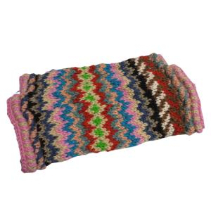 レッグウォーマー アジアン衣料 ネパール手編みウールレッグウォーマー28|e-bingo
