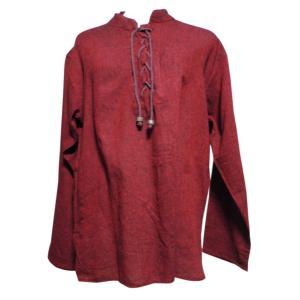 メンズブラウス アジアン衣料 コットン・ネパール・メンズブラウス10 クリックポスト選択 送料200円|e-bingo