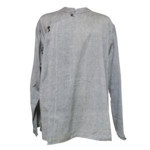 メンズブラウス アジアン衣料 コットン・ネパール・メンズブラウス12 クリックポスト選択 送料200円|e-bingo
