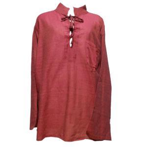メンズブラウス アジアン衣料 コットン・ネパール・メンズブラウス13 クリックポスト選択 送料200円|e-bingo