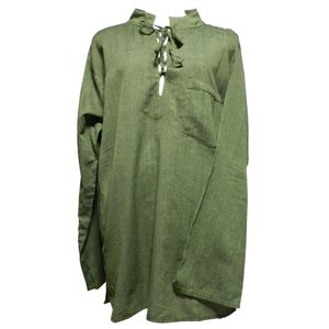 メンズブラウス アジアン衣料 コットン・ネパール・メンズブラウス14 クリックポスト選択 送料200円|e-bingo