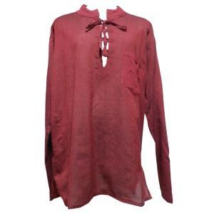 メンズブラウス アジアン衣料 コットン・ネパール・メンズブラウス15 クリックポスト選択 送料200円|e-bingo
