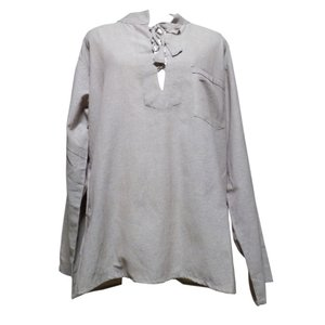 メンズブラウス アジアン衣料 コットン・ネパール・メンズブラウス18 クリックポスト選択 送料200円|e-bingo