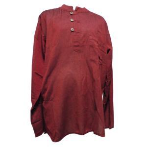 メンズブラウス アジアン衣料 コットン・ネパール・メンズブラウス19 クリックポスト選択 送料200円|e-bingo