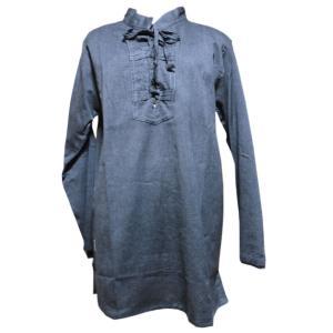 メンズブラウス アジアン衣料 コットン・ネパール・メンズブラウス20 クリックポスト選択 送料200円|e-bingo
