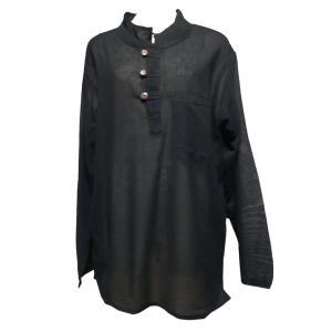 メンズブラウス アジアン衣料 コットン・ネパール・メンズブラウス25 クリックポスト選択 送料200円|e-bingo