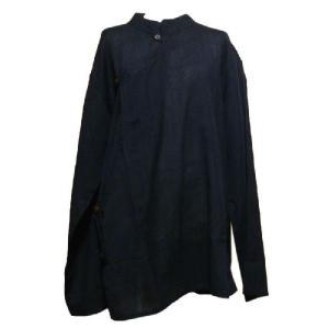 メンズブラウス アジアン衣料 コットン・ネパール・メンズブラウス27 クリックポスト選択 送料200円|e-bingo