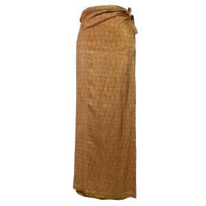 スカート アジアン衣料 タイシルク巻きスカート5|e-bingo