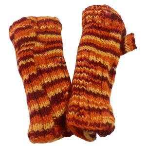 手袋 アジアン衣料 ネパール・ウール・アームウオーマー 2|e-bingo
