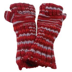 手袋 アジアン衣料 ネパール・ウール・アームウオーマー 4|e-bingo